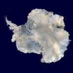 Ice 01 – Antarctica – Mosiac of NOAA AVHRR Satellie Imagery of Antarctica, with NOAA, USGS & UK NRSC.