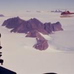 Ice 07 – Antarctica – Reviewing Land Ice Flows around Coastal Mountains, inland from Mawson, Antarctica.